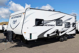 Eclipse RV Inc.: ICONIC Toy Hauler Travel Trailers  http://www.eclipservmfg.com/Iconic